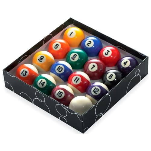Standard Pool Balls LR