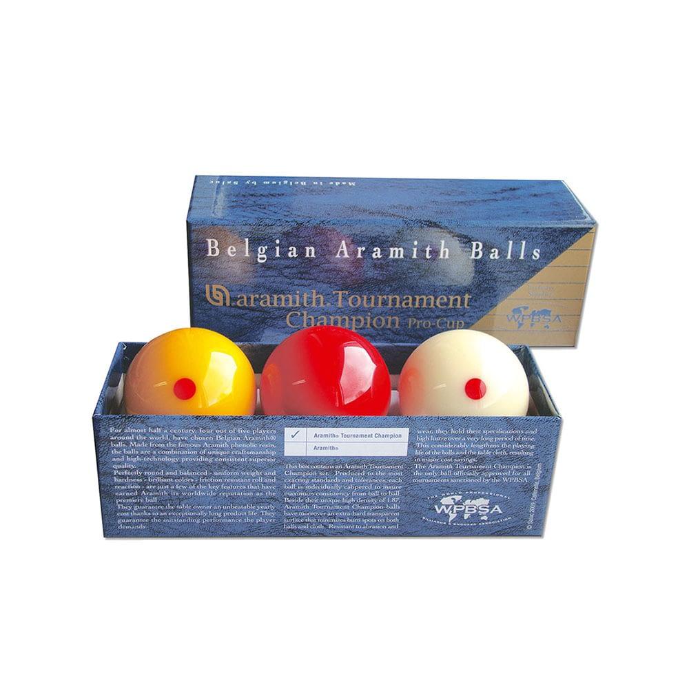 Aramith Tri Colour Pro Tournament Champion Billiard Ball