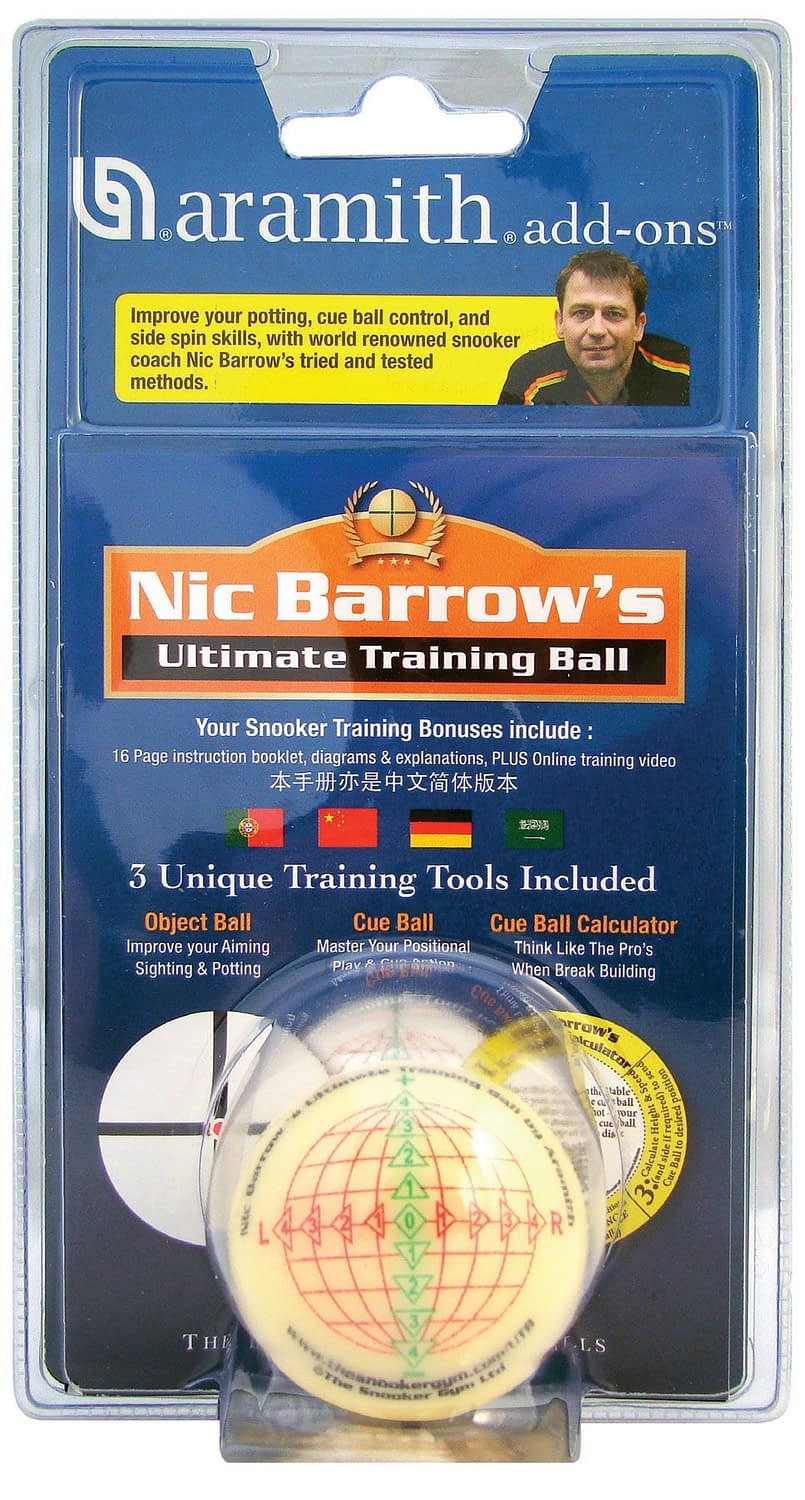 products Ultimate Training Snooker Ball Method in Blister Pack 1 1