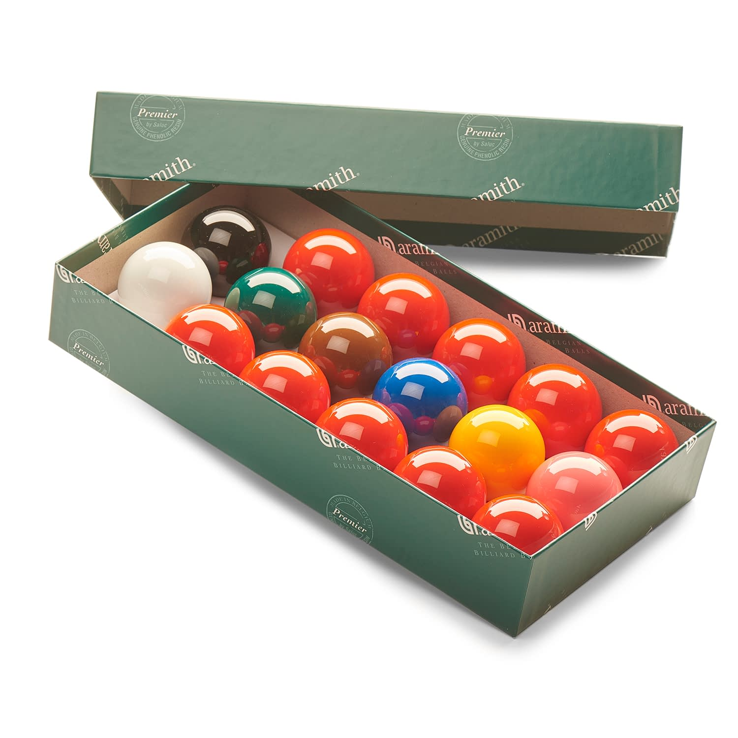 Aramith Snooker Sets with 10 Reds