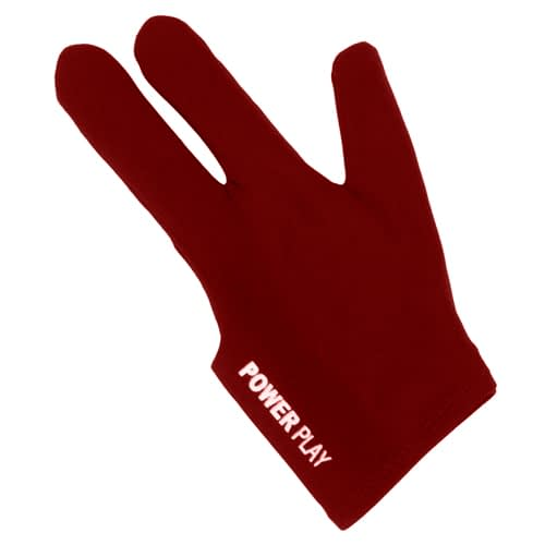 903390 Powerplay Glove Burgundy LR